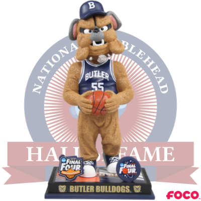 Butler Bulldogs Back-to-Back Final Four Bobblehead (Presale)