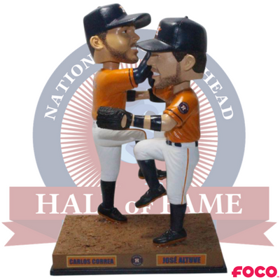 new product ce3df 68715 Houston Astros Jose Altuve and Carlos Correa Celebration Bobblehead
