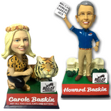 Carole and Howard Baskin Talking Bobbleheads