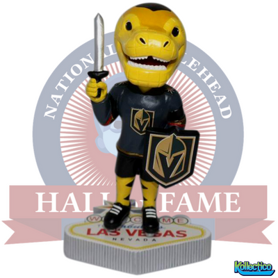 the best attitude c64f6 09d06 Chance Welcome to Las Vegas Golden Knights Mascot Bobblehead