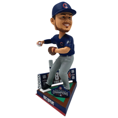 Chicago Cubs 2016 World Series Final Out Bobbleheads (Presale)