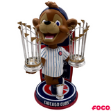 Chicago Cubs - Clark MLB World Series Champions Mascot Bobbleheads