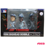 Chicago Cubs Mini Set of 3 Legends Bobbleheads - National Bobblehead HOF Store