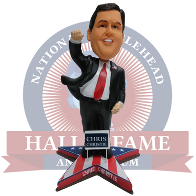 Chris Christie Political Bobblehead - National Bobblehead HOF Store