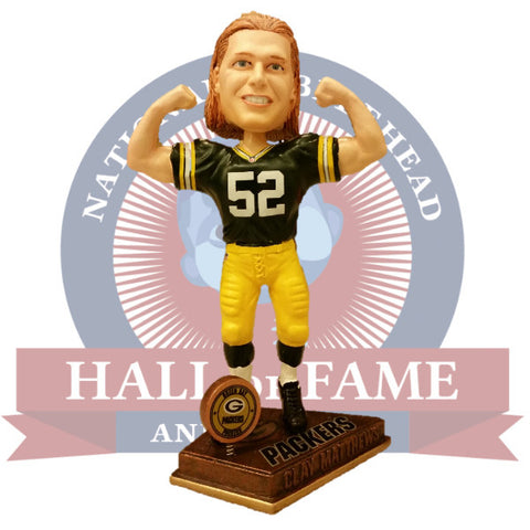 Clay Matthews Flexing Bobblehead