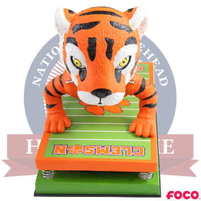 Clemson Tigers The Tiger Pushup Bobblehead