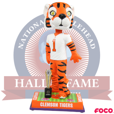 Clemson Tigers NCAA College Football 2018 National Champions Bobblehead (Presale)