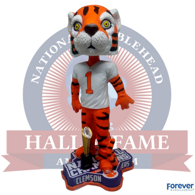 Clemson Tigers NCAA College Football National Champions Bobblehead - National Bobblehead HOF Store