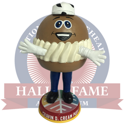 Wisconsin State Fair Cravin D. Cream Puff Bobblehead