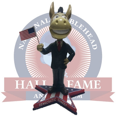 Democratic Donkey Bobblehead - National Bobblehead HOF Store