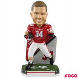 Derek Watt Wisconsin Badgers College Football Super Star Bobbleheads