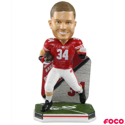 Wisconsin Badgers College Football Super Star Bobbleheads National