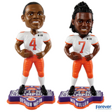 Set of 2 (Deshaun Watson and Mike Williams) Clemson Tigers NCAA College Football National Champions Bobbleheads - National Bobblehead HOF Store