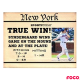 Noah Syndergaard New York Mets True Win Bobblehead