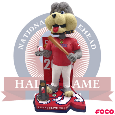 Fresno State Bulldogs NCAA Men's College World Series Bobblehead - National Bobblehead HOF Store
