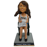 Front Row Amy Milwaukee Bobblehead