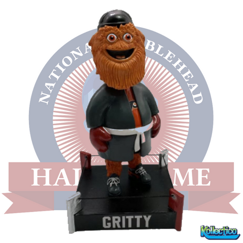 Gritty Philadelphia Flyers Mascot Boxing Ring Special Edition Bobblehead