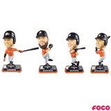 Houston Astros 2017 World Series Champions Orange Jersey Bobbleheads