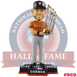 Carlos Correa Houston Astros 2017 World Series Champions Orange Jersey Bobbleheads