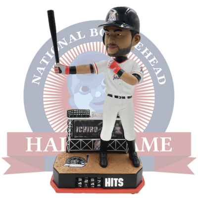 Ichiro Hit Counter Bobblehead - National Bobblehead HOF Store