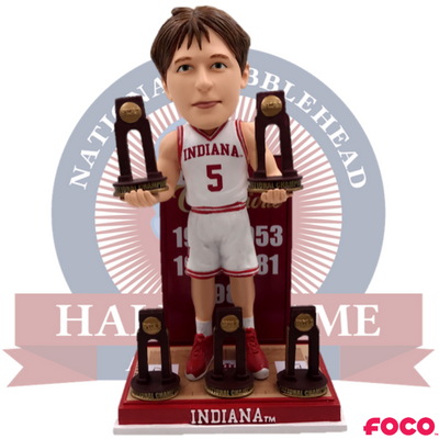 Indiana Hoosiers NCAA College Basketball National Champions Bobblehead (Presale) - National Bobblehead HOF Store