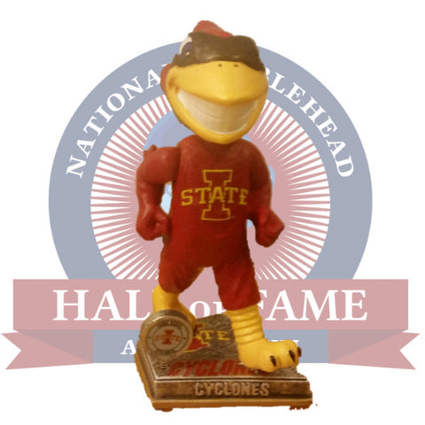 Iowa State Cyclones Cy the Cardinal Mascot Bobblehead