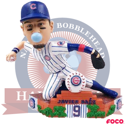 Javier Baez Chicago Cubs Sliding Bobblehead