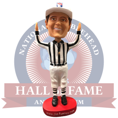 Jim Tunney NFL Referee Bobblehead