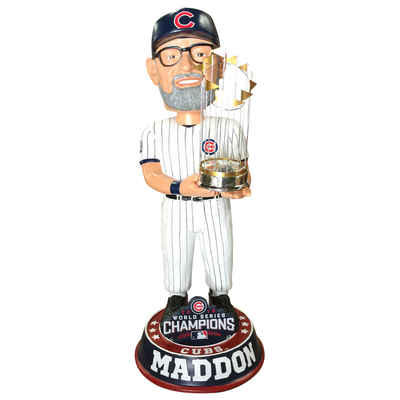 Chicago Cubs 2016 World Series Champions 3 Foot Bobbleheads
