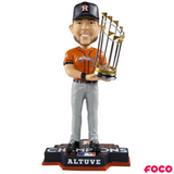 Jose Altuve Houston Astros 2017 World Series Champions Orange Jersey Bobbleheads