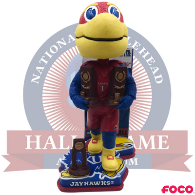 Kansas Jayhawks NCAA College Basketball National Champions Bobblehead