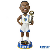 Kevin Durant - 3 Foot Golden State Warriors 2017 NBA Champions Bobbleheads - National Bobblehead HOF Store