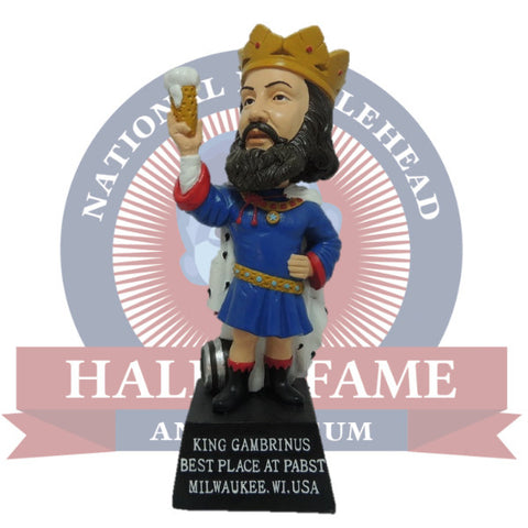 Pabst King Gambrinus Bobblehead