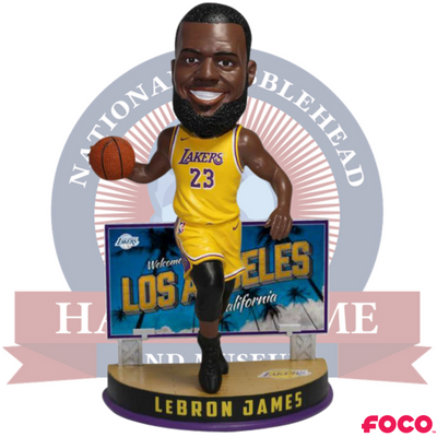 LeBron James Los Angeles Lakers Billboard Bobblehead