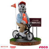 San Francisco Giants - Lou Seal - Mascot on Bike