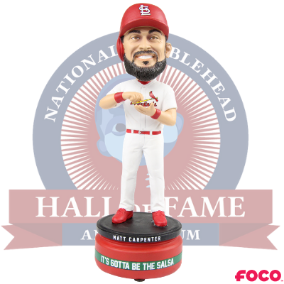 Matt Carpenter St. Louis Cardinals It's Gotta Be The Salsa Bobblehead