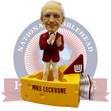 "Mike Leckrone ""On, Wisconsin"" Musical Band Bobblehead"