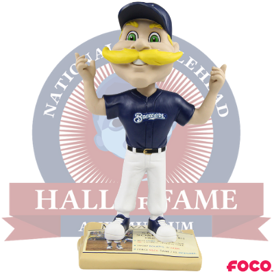 Milwaukee Brewers Show Us Some Love Bobblehead
