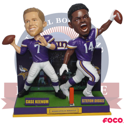 Minneapolis Miracle Minnesota Vikings Bobblehead