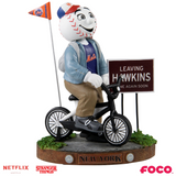 New York Mets - Mr. Met - Mascot on Bike