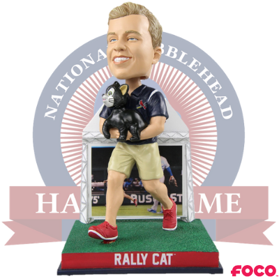St. Louis Cardinals Lucas Hackmann Rally Cat Bobblehead