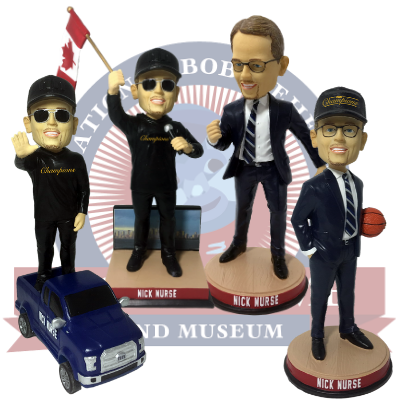 Nick Nurse Special Edition Bobbleheads