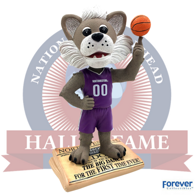 Northwestern Wildcats 2017 NCAA Tournament Bobblehead - National Bobblehead HOF Store