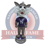 3 Foot Northwestern Wildcats Willie the Wildcat Bobblehead