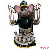 Oakland Athletics - Stomper MLB World Series Champions Mascot Bobbleheads