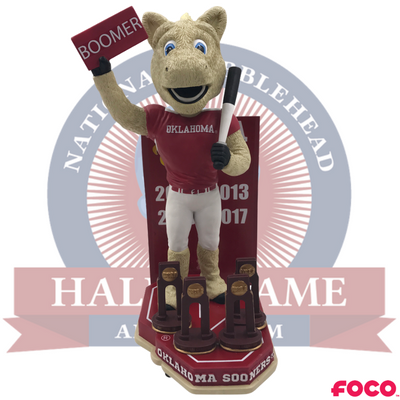 Oklahoma Sooners NCAA Softball National Champions Bobblehead