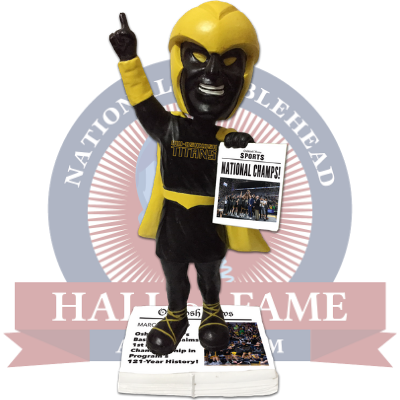 Oshkosh Titans 2019 National Champions Bobblehead