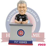 Pat Hughes Chicago Cubs 2016 World Series Talking Bobblehead