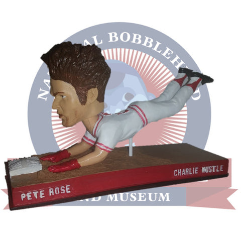Pete Rose Sliding Bobblehead - National Bobblehead HOF Store