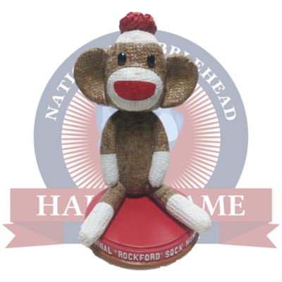 Sock Monkey Bobblehead - National Bobblehead HOF Store